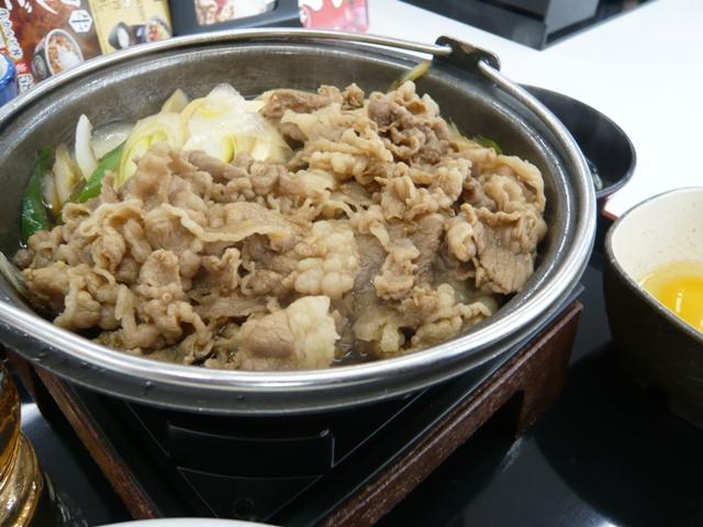 吉野家:牛すき鍋膳2