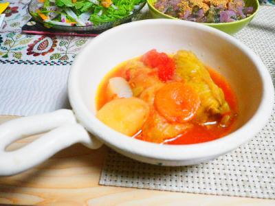 ロールキャベツトマトソース