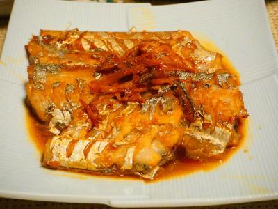 太刀魚の煮つけ