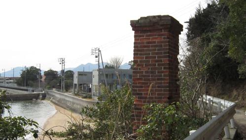検疫所 赤レンガの煙突