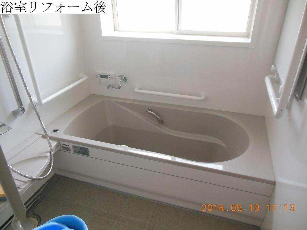 ②浴室後web