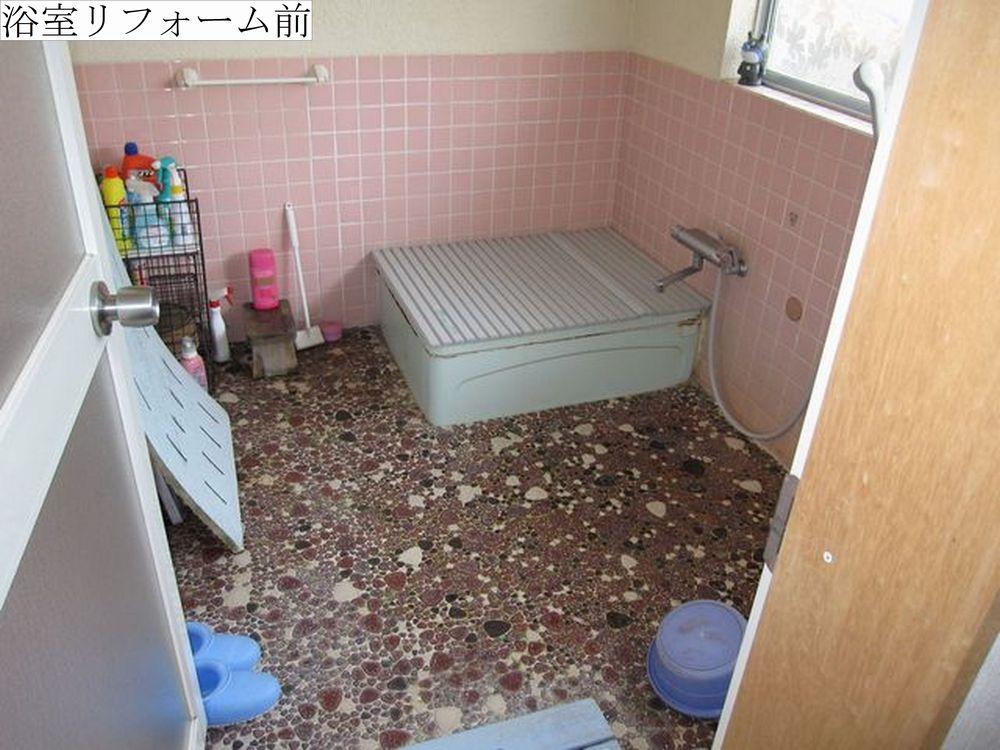 ⑨浴室前web