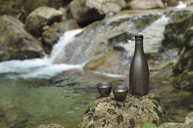 山崎正典日本酒ボトル