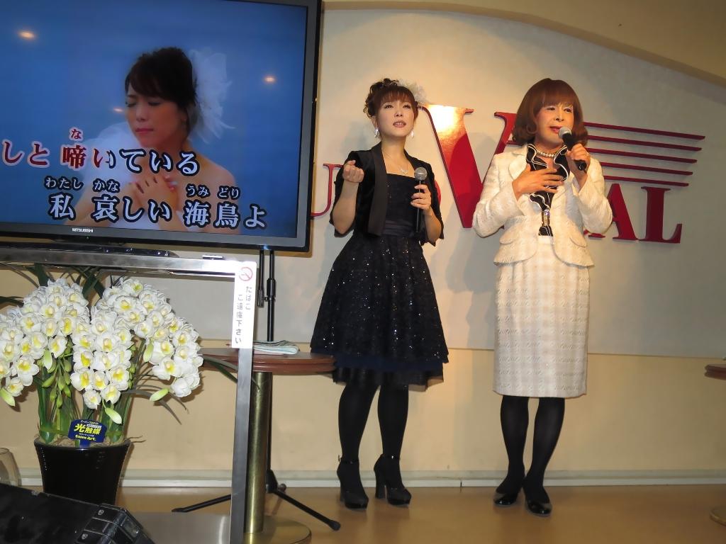 花咲ゆき美とツーショット(3)