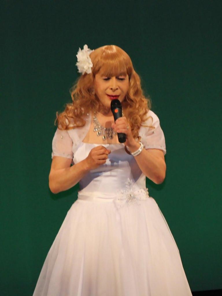 白ショートドレス舞台A(1)
