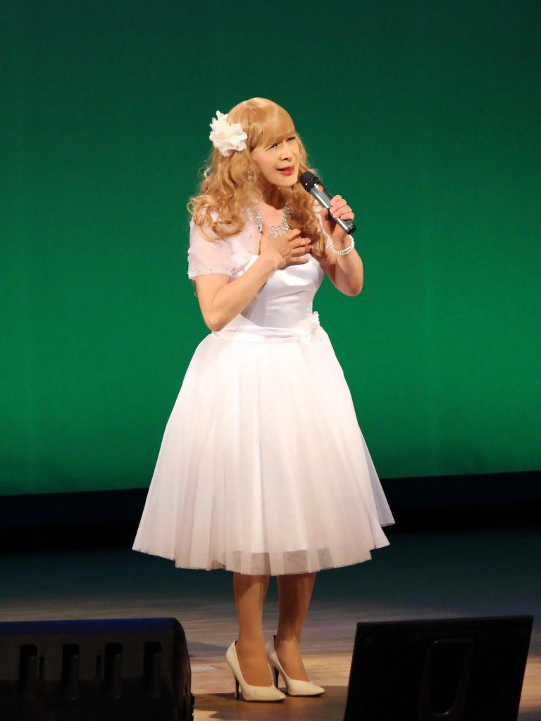 白ショートドレス舞台A(3)