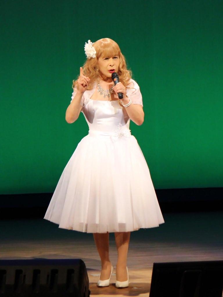 白ショートドレス舞台A(4)