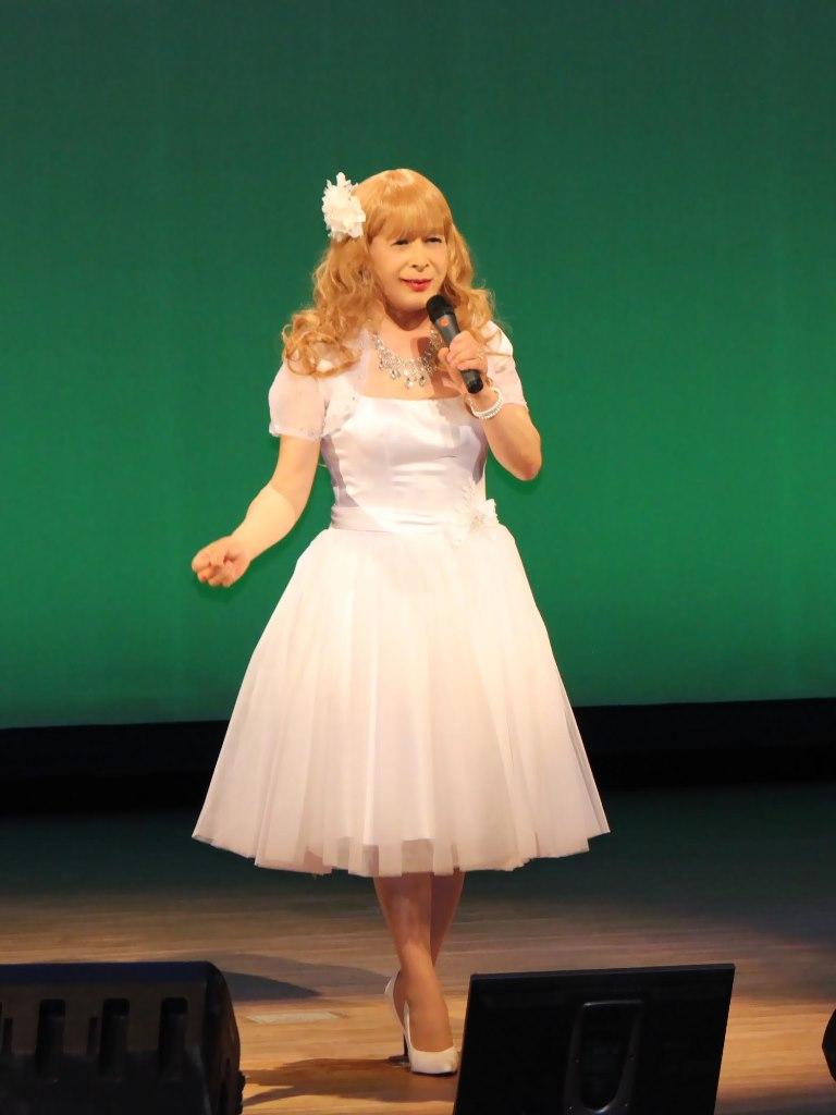 白ショートドレス舞台A(6)