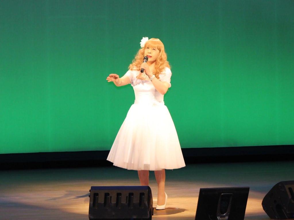 白ショートドレス舞台B(1)