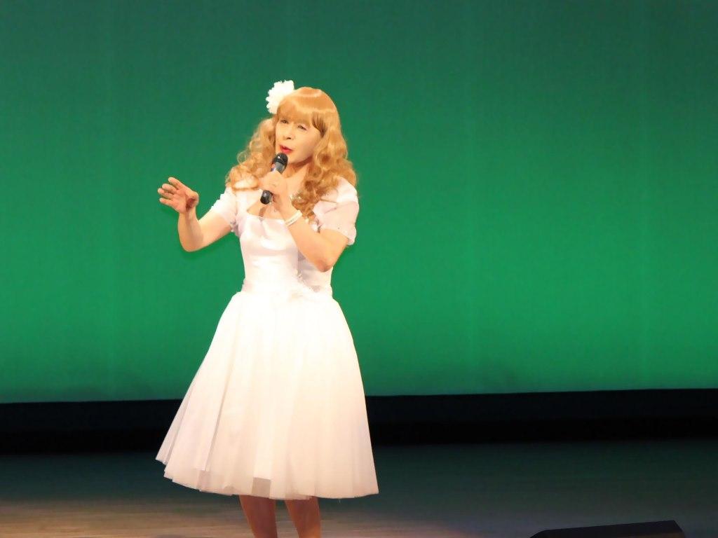 白ショートドレス舞台B(2)