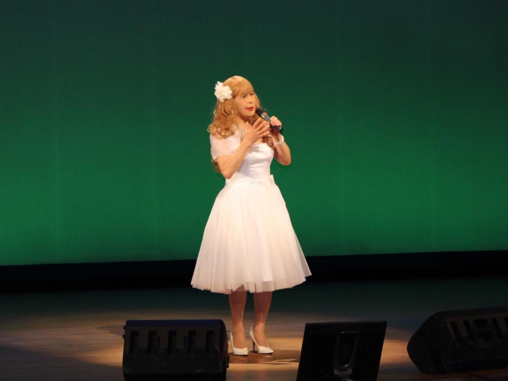 白ショートドレス舞台B(4)