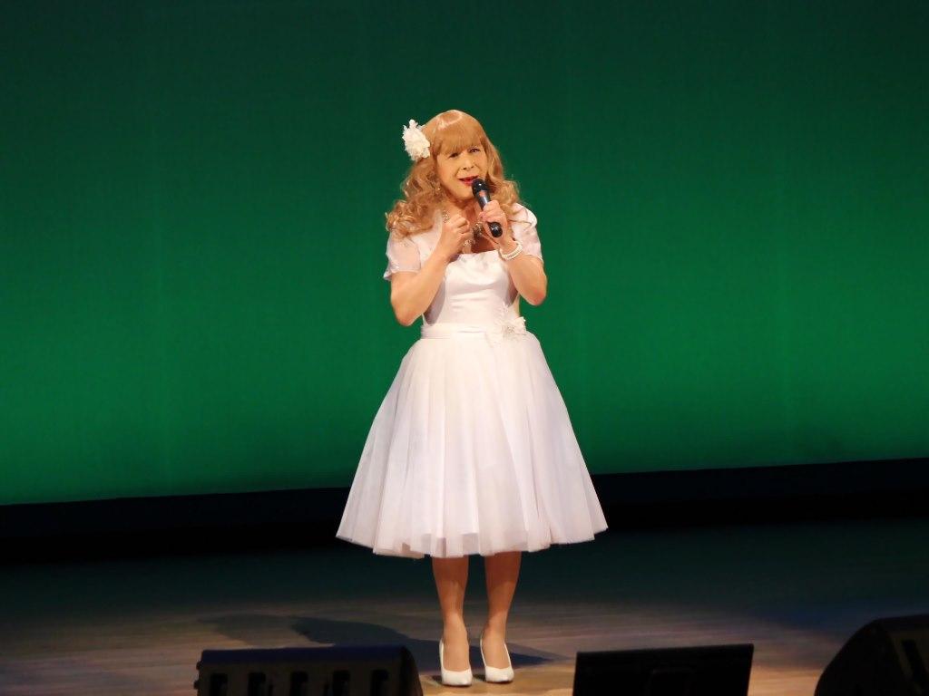 白ショートドレス舞台B(5)