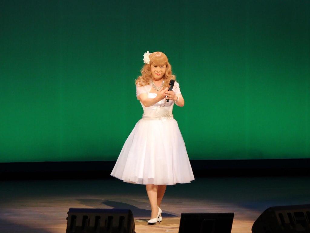 白ショートドレス舞台B(6)