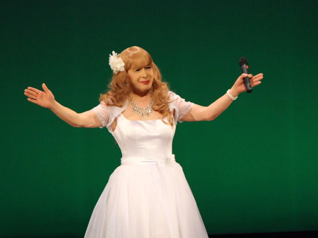 白ショートドレス舞台B(7)