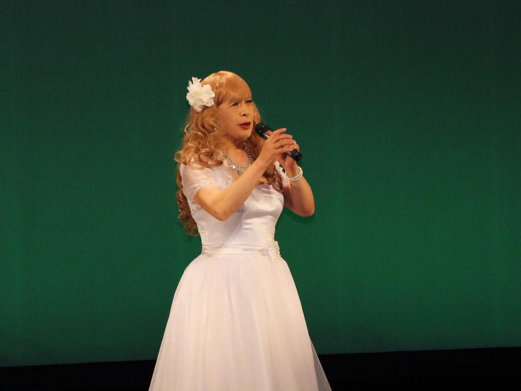 白ショートドレス舞台B(9)
