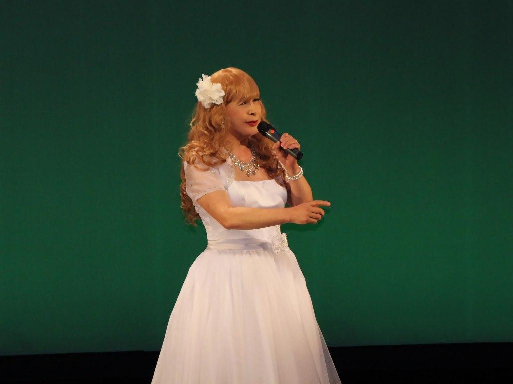 白ショートドレス舞台B(10)