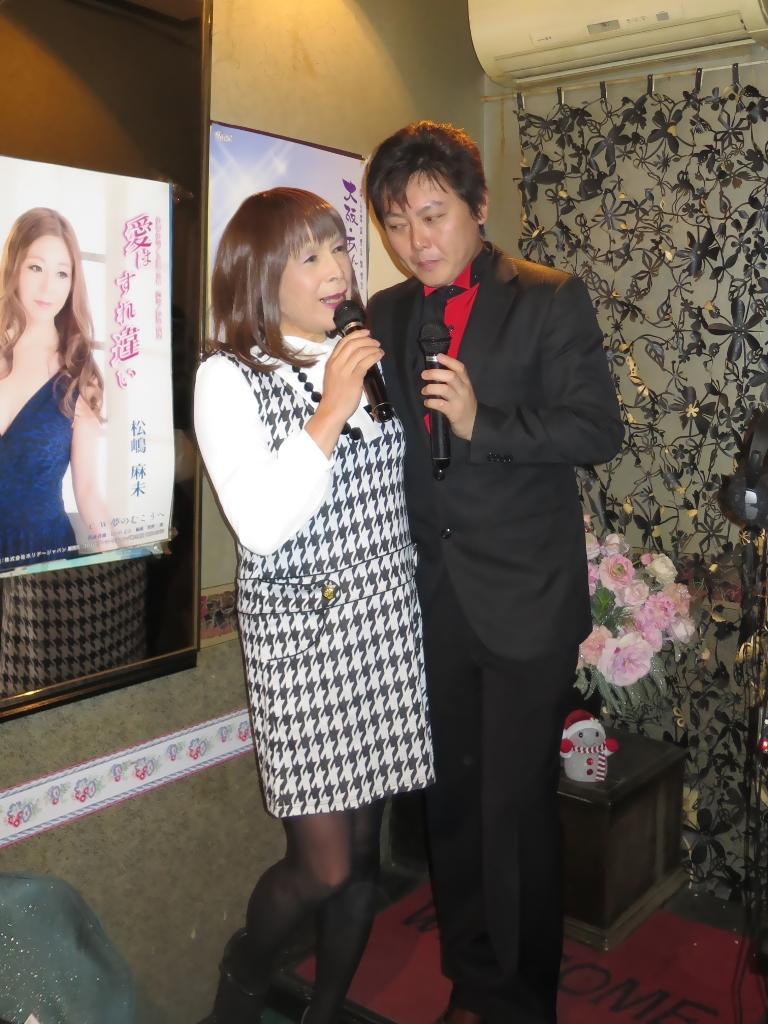 千鳥柄・歌手三国けんさんと(3)