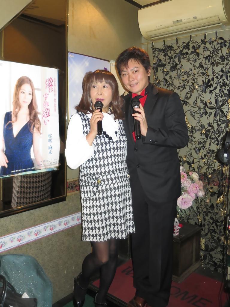 千鳥柄・歌手三国けんさんと(7)