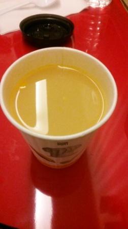 マックのコーンスープ
