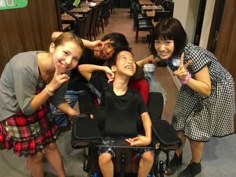 撮影後、浅草にて井澤さんと4ショット