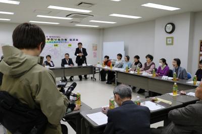 NHK カメラ取材