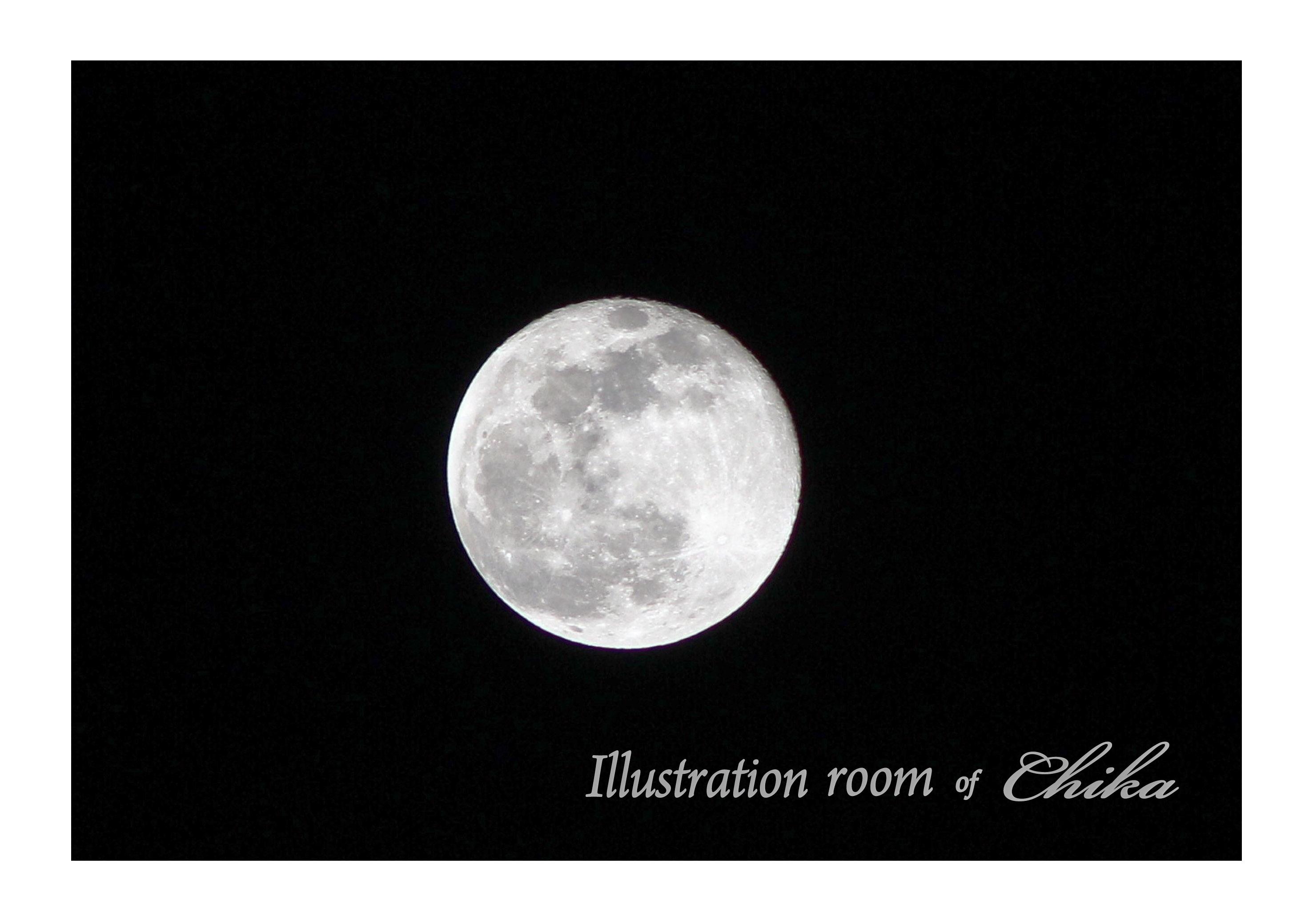 満月の次の夜のコピー