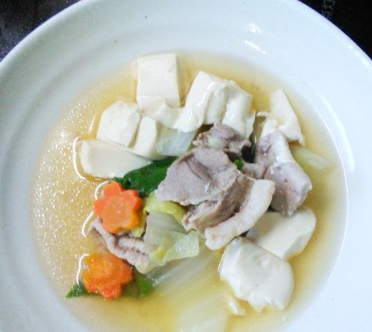 もも肉と白菜簡単煮