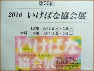 20160309  チケット   いけばな協会展