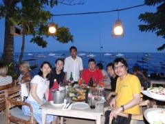 サヌール海岸のレストラン (5)