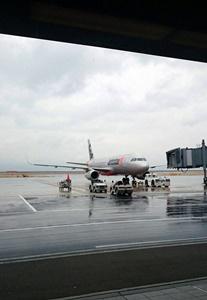 飛行機大阪