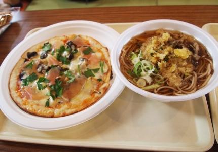 ピザ&そば