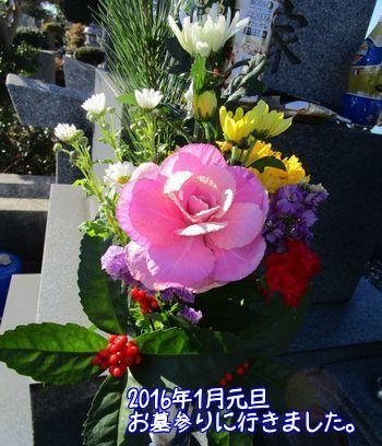 2016年の墓参り