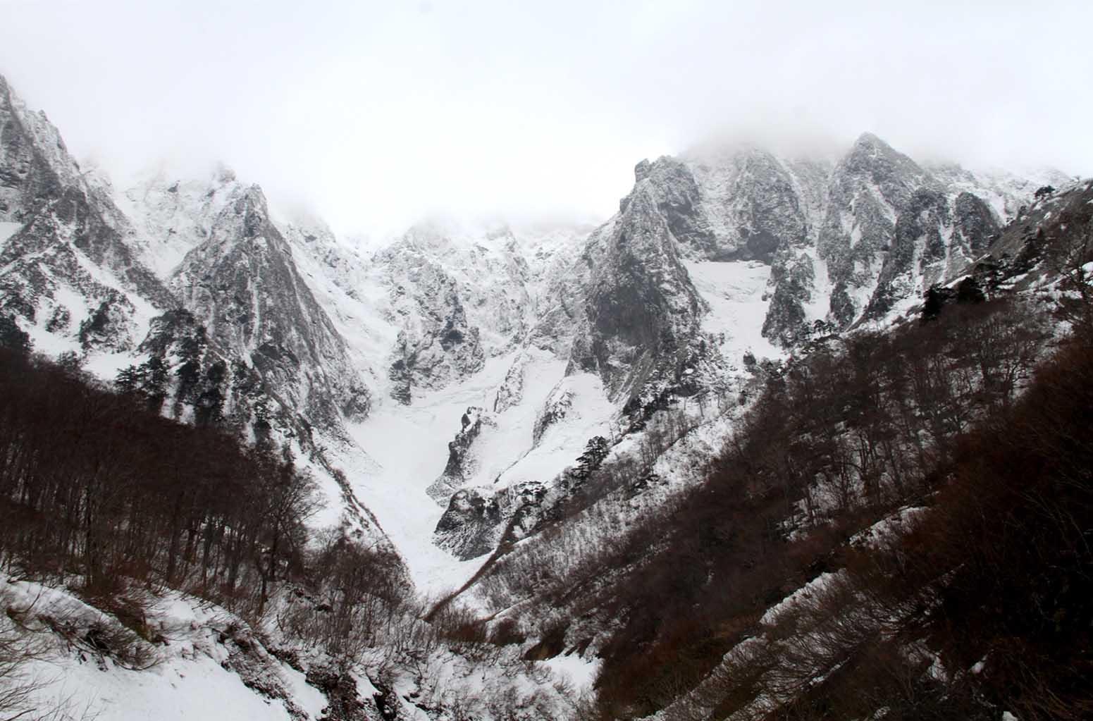 谷川岳雪中訓練 (2)