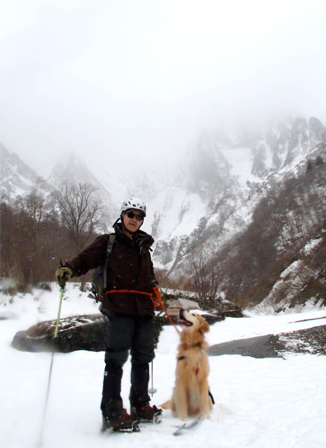 谷川岳雪中訓練 (1)