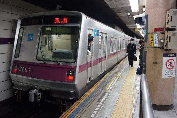 2016-02-19 メトロ8107F 回送
