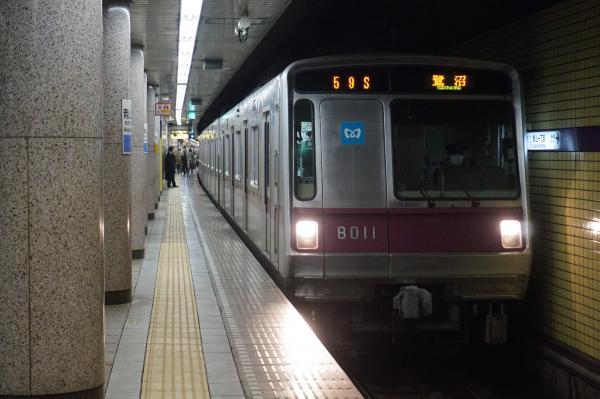 2016-02-19 メトロ8111F 鷺沼行き