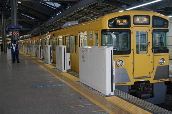 2016-02-19 西武2097F 各停清瀬行き2 5855レ