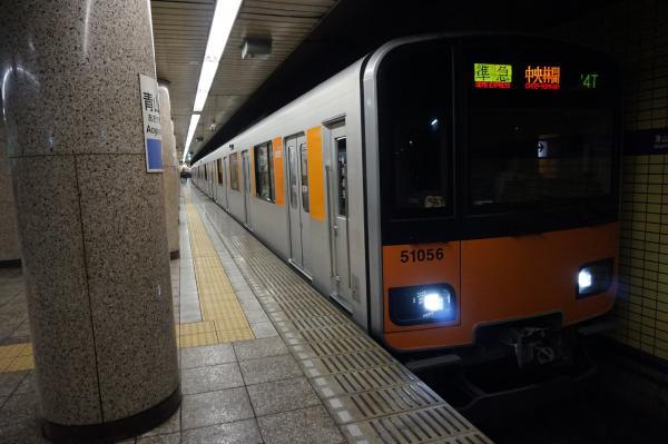2016-02-19 東武51056F 準急中央林間行き