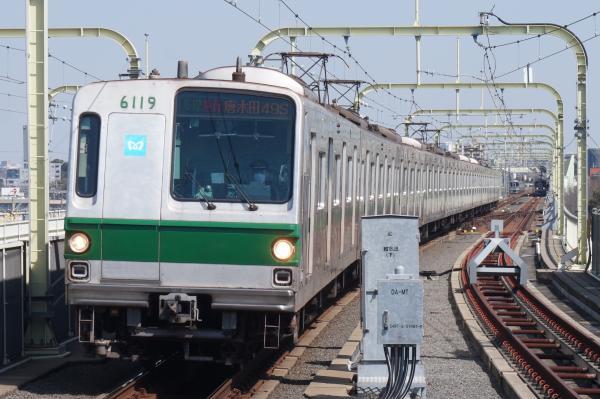2016-03-15 メトロ6119F 多摩急行唐木田行き