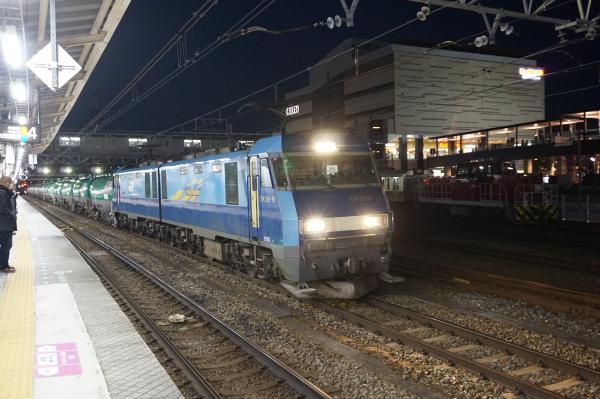 2016-03-15 DE10 1576+東急5115F+5116F EH200 19牽引 貨物列車
