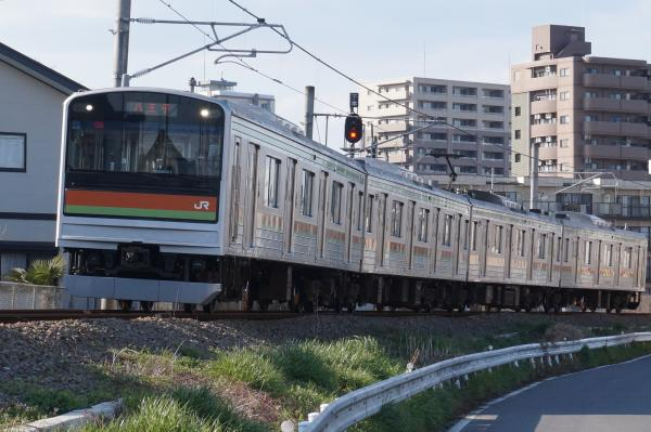 2016-03-22 八高線205系ハエ83編成 八王子行き