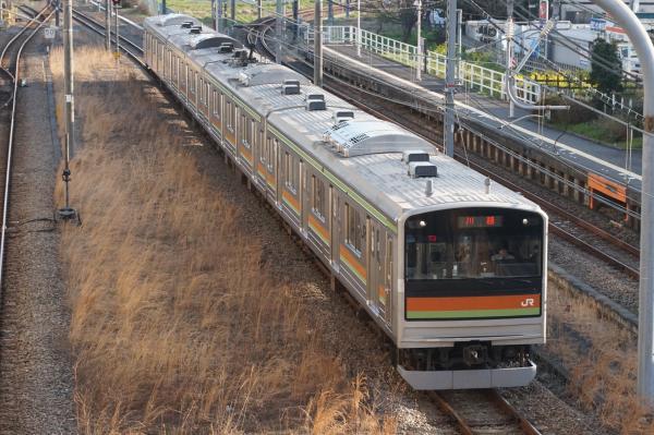2016-03-22 八高線205系ハエ84編成 川越行き