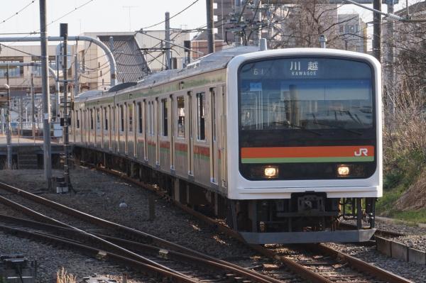 2016-03-22 八高線209系ハエ64編成 川越行き