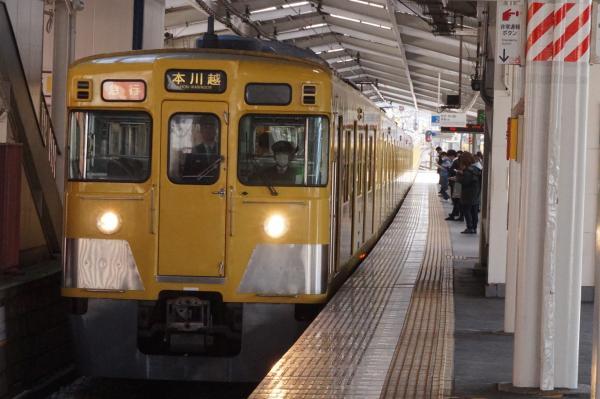 2016-03-31 西武2403F+2007F 急行本川越行き 2627レ