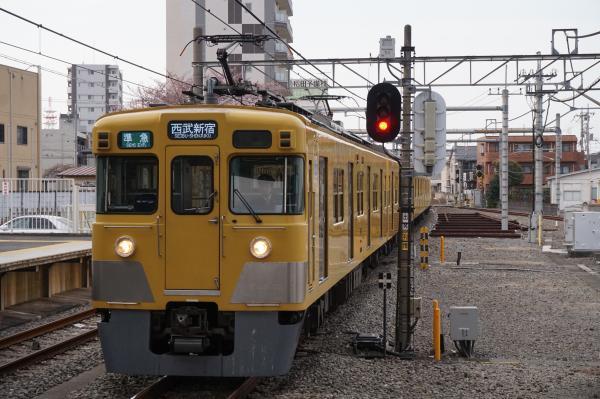 2016-03-31 西武2411F+2093F 準急西武新宿行き1 4808レ