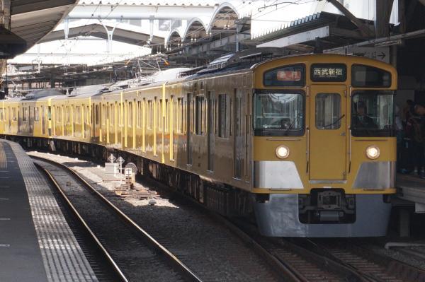 2016-03-31 西武2507F+2047F 急行西武新宿行き 2324レ