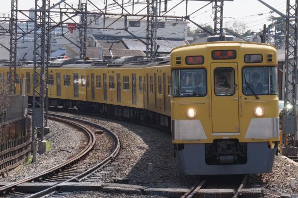 2016-03-31 西武2541F+2019F 急行拝島行き1 2313レ