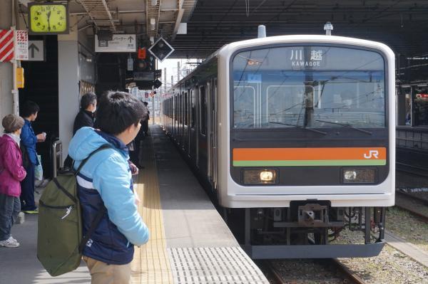 2016-03-31 八高線209系ハエ62編成 川越行き1