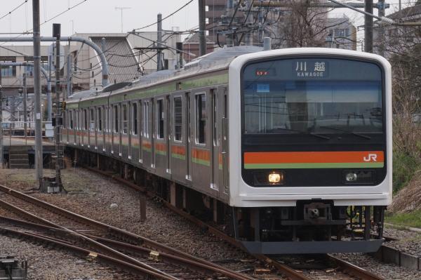 2016-03-31 八高線209系ハエ62編成 川越行き3