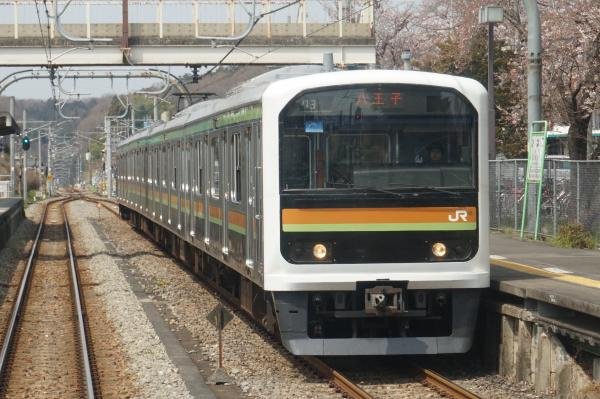 2016-03-31 八高線209系ハエ71編成 八王子行き1